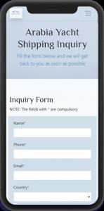 JINT-arabiayachtshipping-mobile-inquiry-screenshot