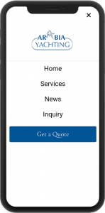 JINT-arabiayachtshipping-mobile-menu-screenshot